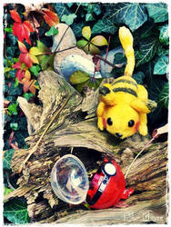 My newest Pet, a Pika Mouse :3 by Plushbox