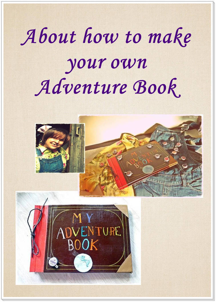 Adventure Book Tutorial from UP - Pixar by Plushbox