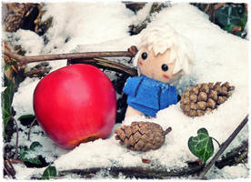 First Snow and Jack by Plushbox