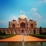 Humayun's Tomb by rjwarrier