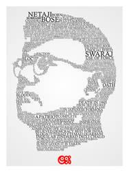 Netaji Subhash Chandra Bose by rjwarrier