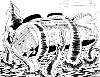 24 - Kraken by Tiquitoc