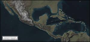 Coastlines of the Ice Age - Central America by atlas-v7x