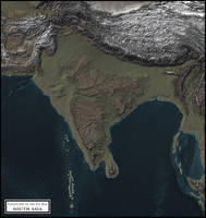 Coastlines of the Ice Age - South Asia by atlas-v7x