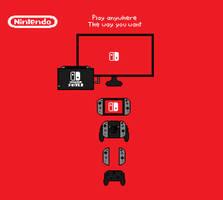 Nintendo Switch by Mariothehedgehog321