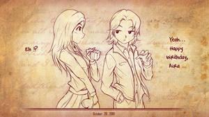 HBD aizie-chan by mysticswordsman21