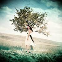 tree girl by incisler