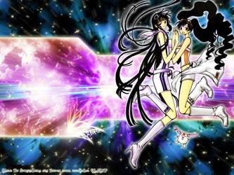 xxxHolic - Yuuko and Himawari by strikezero