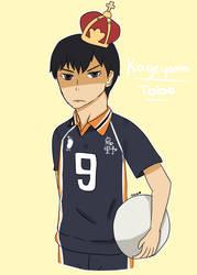 Kageyama Tobio #1 by DRAWINGGIRL10