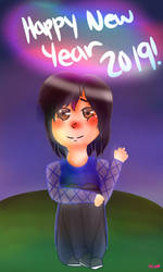 Happy New Year 2019! by DRAWINGGIRL10