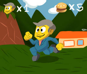 Steamed Hams 64 by StrongSeanMann