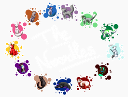 The Noodles Team by NissaFY