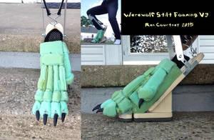 Werewolf Stilt Foaming V3 by WereRen