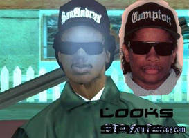 Eazy E is Ryder by WSMarkHenry
