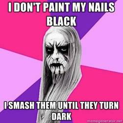 I Smash My Fingers by WSMarkHenry