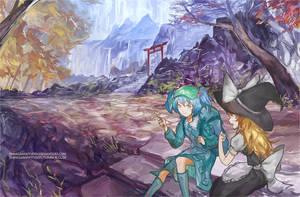 Autumn Shrine by 42WV