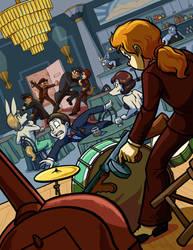 Crashing the Party by ChaosKomori