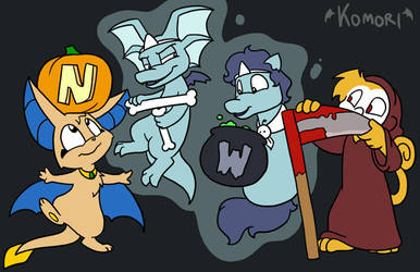 Halloween NTWF Banner by ChaosKomori