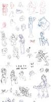 Sketchbook- August 2011 by ChaosKomori