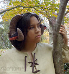 Halloween Ram Horns by ChaosKomori