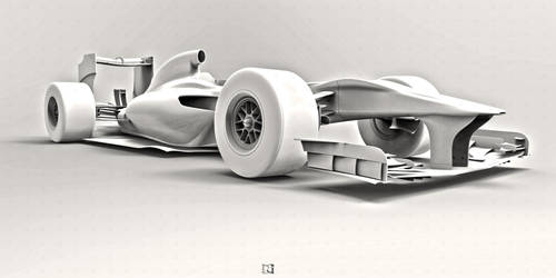 F1 Car * View Detail by bgursoy