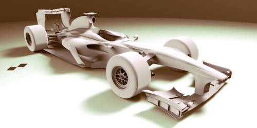 F1 Car Concept Design * wip1 by bgursoy