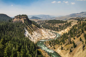 Overview: Grand canyon of Yellowstone by Mana-C-E