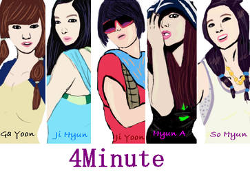 4minute by crycourt23