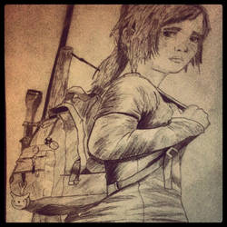 The Last Of Us Ellie by LiamLittle
