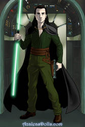 Loki Sci Fi Warrior by namesarestupid