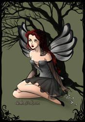 Sansa Stark Dark Fairy by namesarestupid
