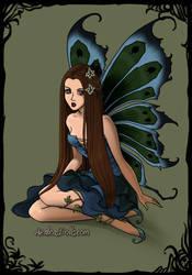 Margeary Tyrell Dark Fairy by namesarestupid