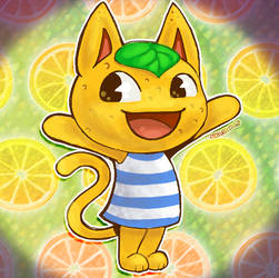 Tangy - Animal Crossing by AltiaStudio