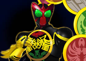 Regret Nothing! Kamen Rider OOO! by AxelTherion