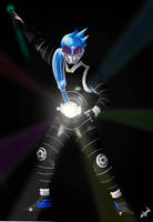 Dazzling the stars! Kamen Rider Meteor! by AxelTherion