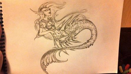 Mermaid by Nemesis-of-the-Gods