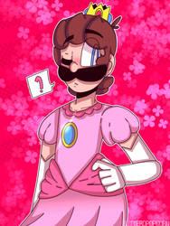 Princess Luigi (Mario and Luigi SS) by butterdcreamcake