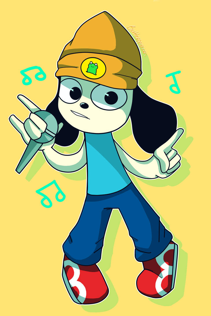 Parappa The Rapper by butterdcreamcake