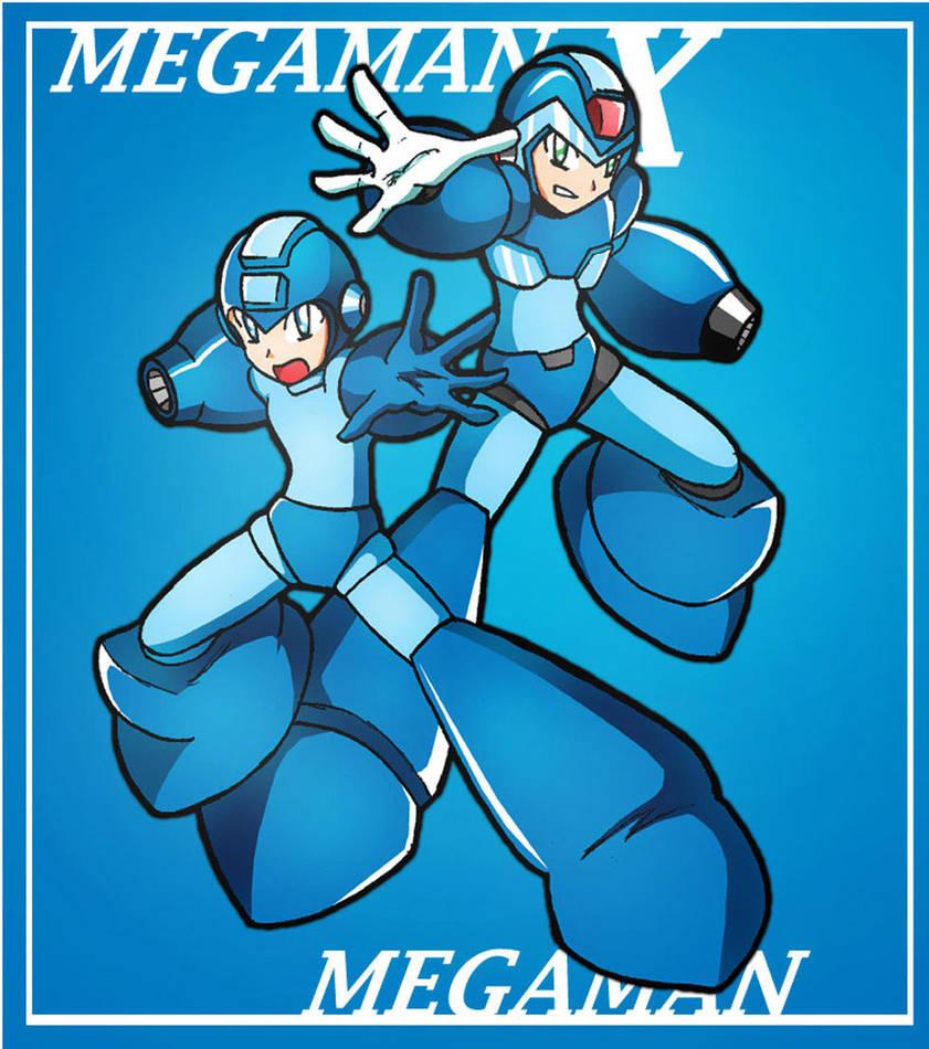 Double Heroes: X and Megaman. by SaitoKun-EXE
