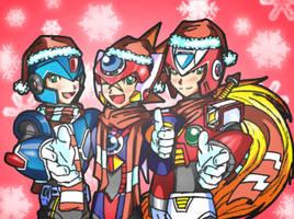Merry Christmas, Hunters by SaitoKun-EXE