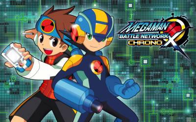 Mega Man Battle Network Chrono X Promo by SaitoKun-EXE
