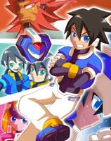 Mega Man ZX Reburst by SaitoKun-EXE