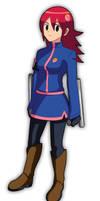 Commission: Teenage Mayl Sakurai [NetSavior] by SaitoKun-EXE