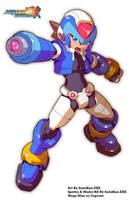 Mega Man ZX Reburst: Spettro Mega Man Model RX by SaitoKun-EXE