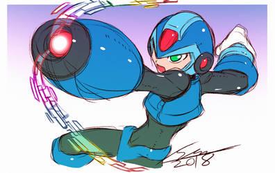 Original X Doodle by SaitoKun-EXE