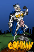 Cowman by OuthouseCartoons