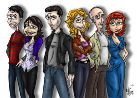 Republic of Doyle by OuthouseCartoons