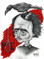 Poe by OuthouseCartoons