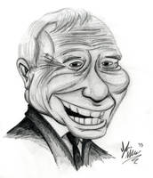 Mel Brooks by OuthouseCartoons
