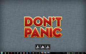 My Don't Panic desktop by hallgat